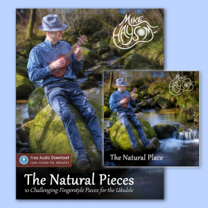 The Natural Pieces Tab Book (Paperback) + CD Bundle!