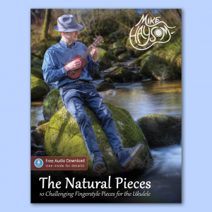 The Natural Pieces Tab Book (Paperback) + Audio Download