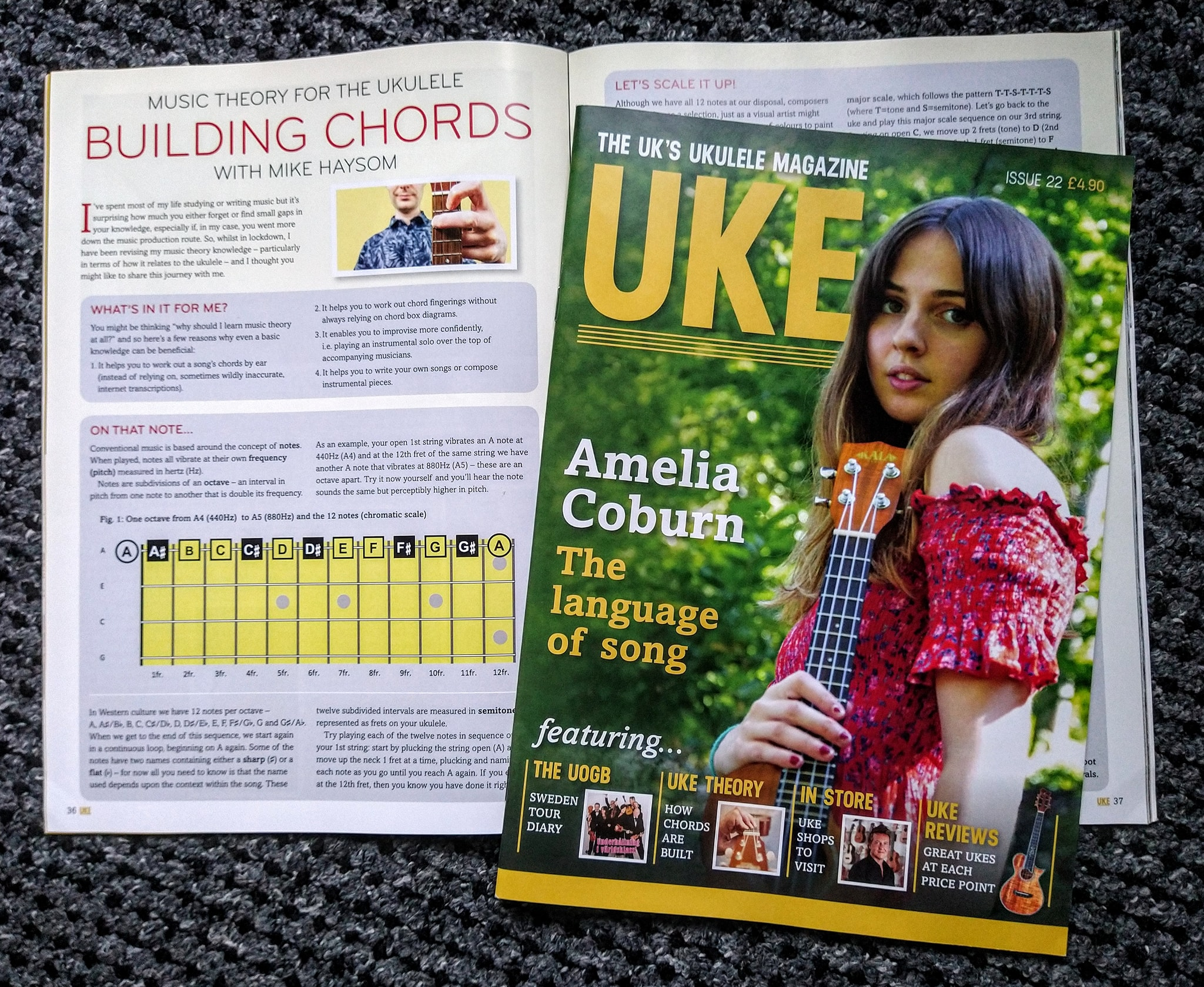 My First Article Published in UKE Magazine!