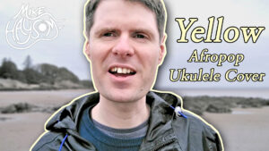 Read more about the article Yellow (Coldplay) Afro-Pop Ukulele Cover Filmed on the Beach