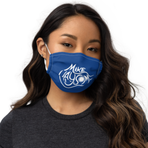 Mike Haysom Logo Face Mask with Filter Pocket